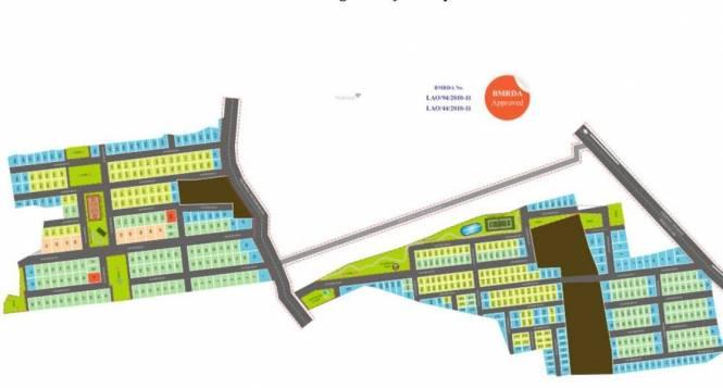Icon Malgudi Site Plan