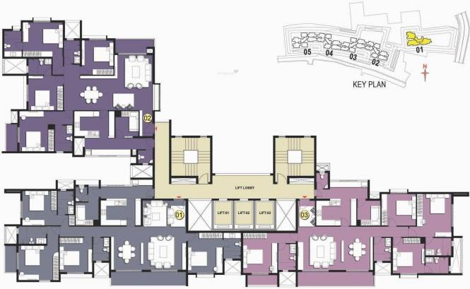 Prestige West Woods Cluster Plan
