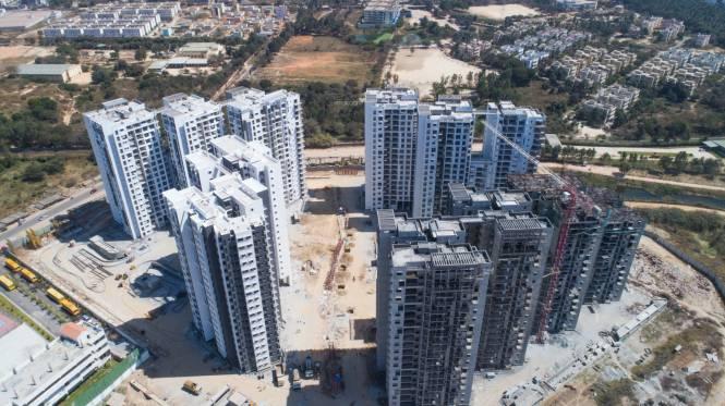 SNN Raj Etternia Construction Status