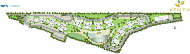 ariana Images for Site Plan of TATA Ariana