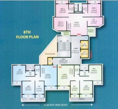 Mahavir Plaza Cluster Plan