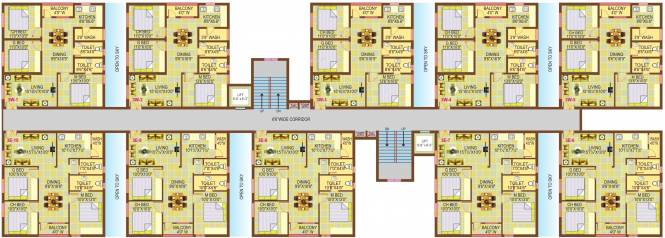 Empire Meadows Cluster Plan