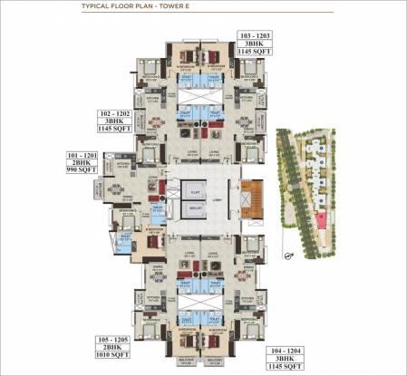 Images for Cluster Plan of Mantri WebCity