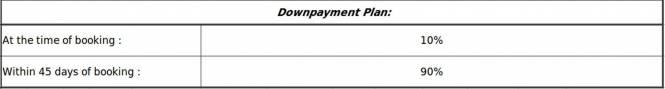 Eldeco Olympia Payment Plan