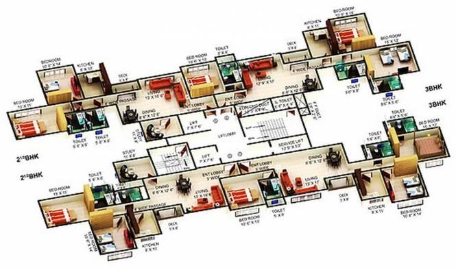 Mahindra Splendour Cluster Plan