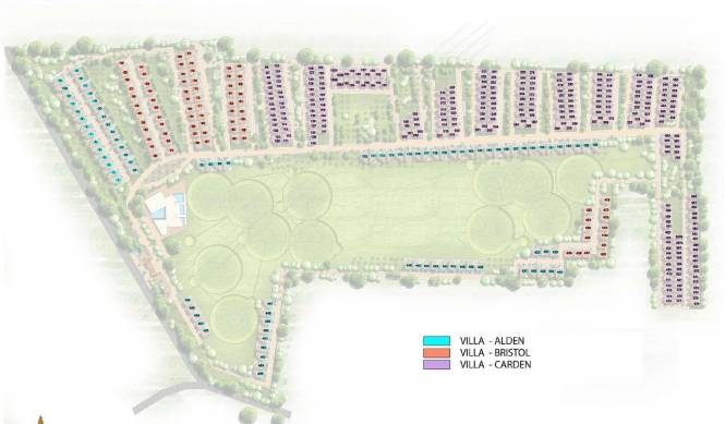 Prestige Augusta Golf Village Layout Plan