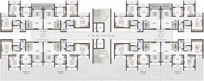 Platinum Venecia Cluster Plan