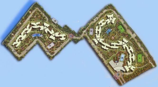 Elita Promenade Site Plan