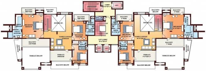 Parsvnath Exotica Cluster Plan