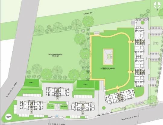 Panchshil Eon Waterfront Site Plan