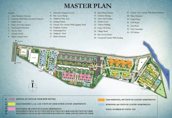 Sobha Santorini At City Master Plan