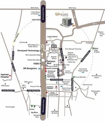 GR Heights Location Plan