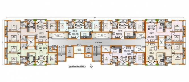 Alameen Milano Orchard Cluster Plan