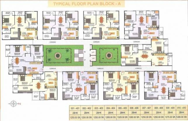 Charitha Classic Cluster Plan