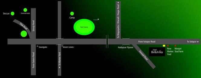 Karan Bella Vista Location Plan