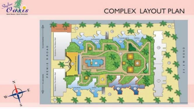 Skyline Oasis Layout Plan