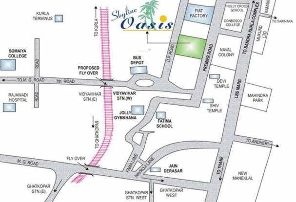 Skyline Oasis Location Plan