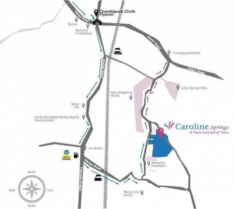 Capita Caroline Springs Location Plan