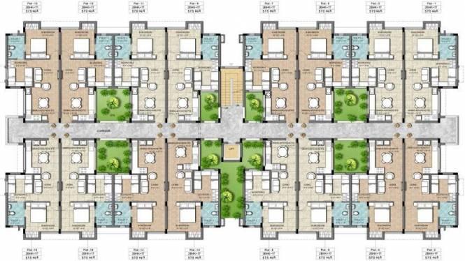 KG Earth Homes Cluster Plan