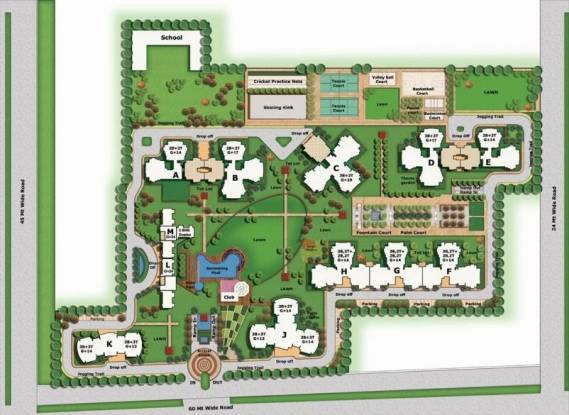 BPTP Discovery Park Layout Plan