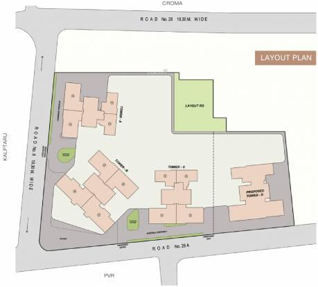 Sheth Beaumonte Layout Plan