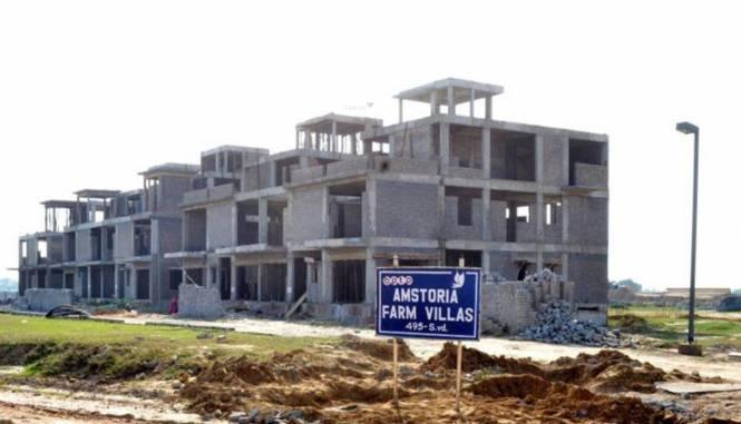 BPTP Amstoria Country Floor Construction Status
