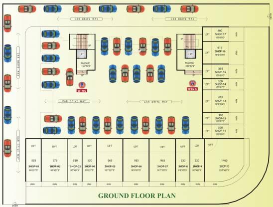Satyam Prestige Cluster Plan