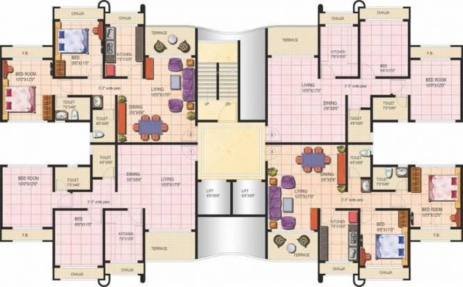 Tharwani Rosalie Cluster Plan