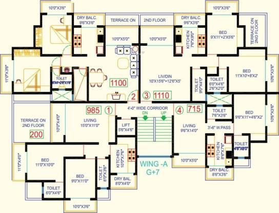 Ostwal Ostwal Point Cluster Plan