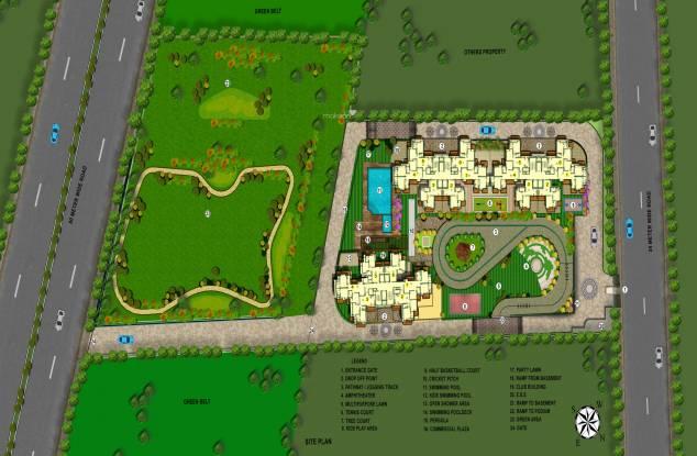 SRPL Flora Heritage Site Plan
