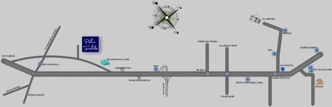 Taras Datri Palmfield Location Plan