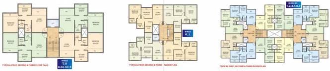 vishwa Tower U Cluster Plan