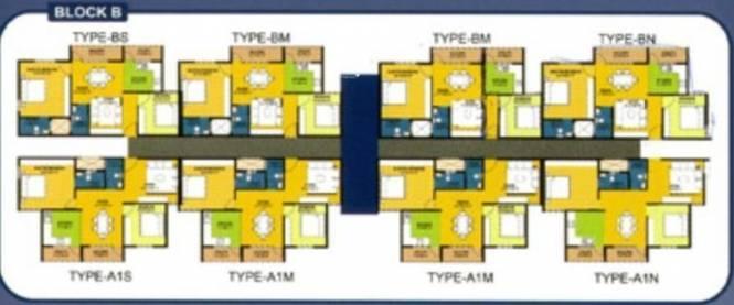 Maxworth Spoorthi Cluster Plan