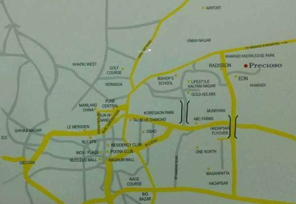 Global Precioso Location Plan