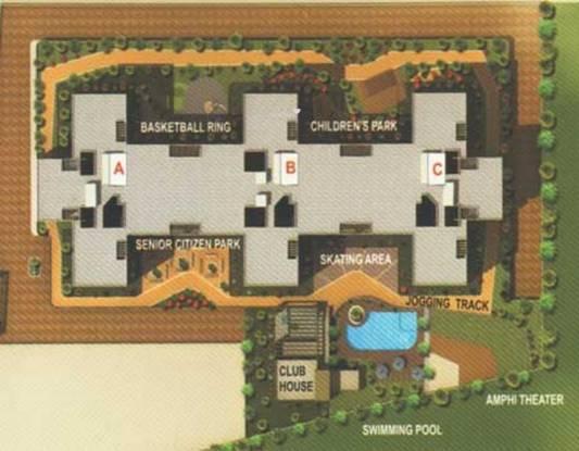 Siddhivinayak Selene Park Layout Plan