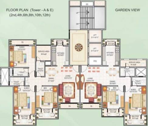 Bhagwati Bhagwati Heritage Cluster Plan