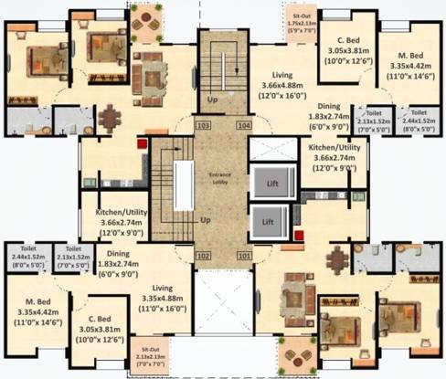 Nyati Evita Cluster Plan