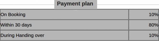 Jain Inseli Park Payment Plan