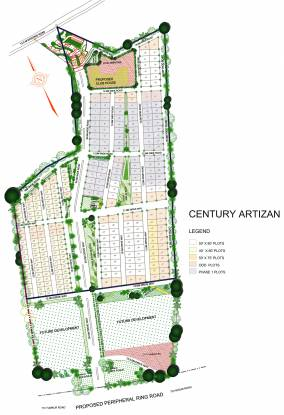 Images for Site Plan of Century Artizan