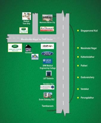 ABS Sahaana Nagar Location Plan