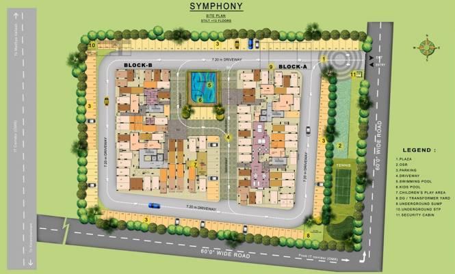 XS Real Symphony Site Plan