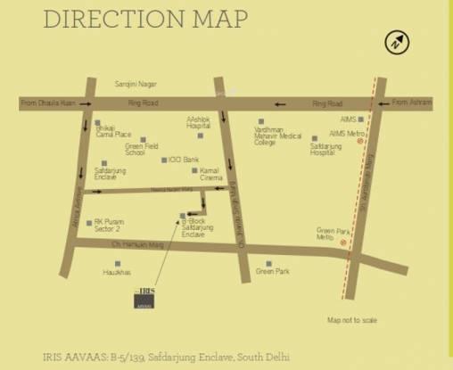 Trehan Iris Aavaas Location Plan