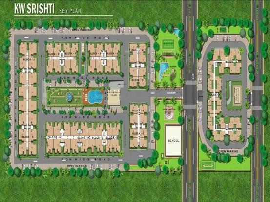 K W Srishti Site Plan
