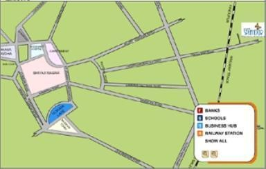 Mantri Splendor Location Plan