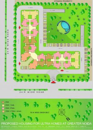 Amrapali Castle Layout Plan