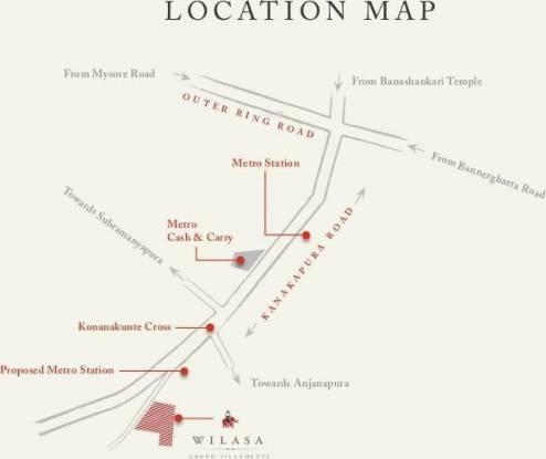 Pride Wilasa Location Plan