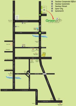 Saviour Green Arch Location Plan