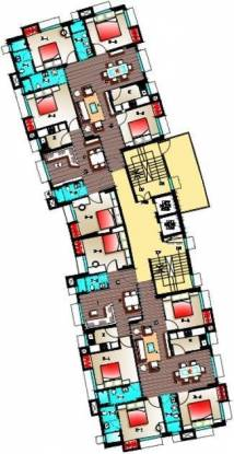 Adya Adya Highrise Cluster Plan
