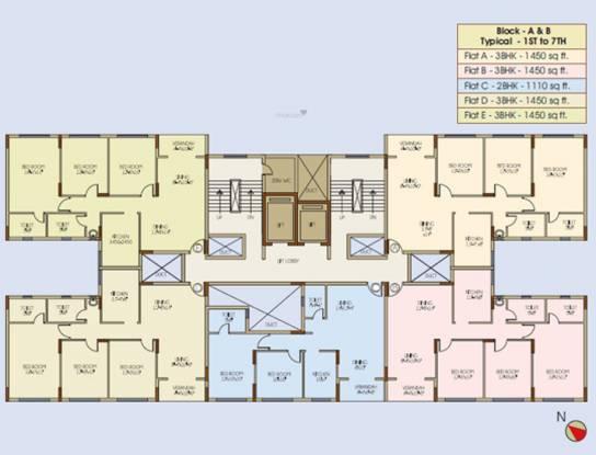 Ideal Ideal Niketan Cluster Plan