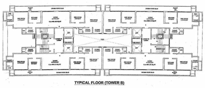 Conwood Astoria Cluster Plan